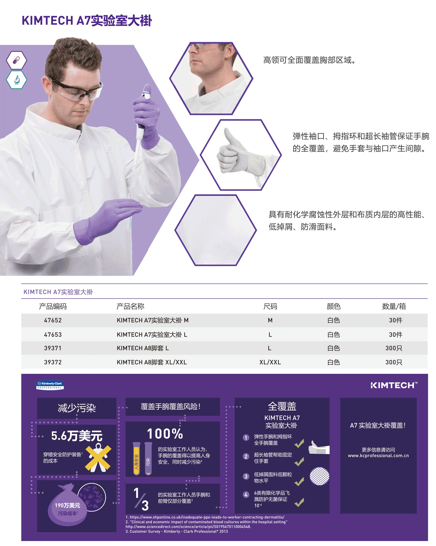 KIMTECH A7实验室大褂