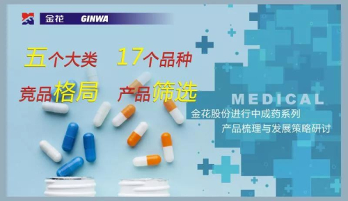 金花股份进行中成药系列产品梳理与发展策略研讨
