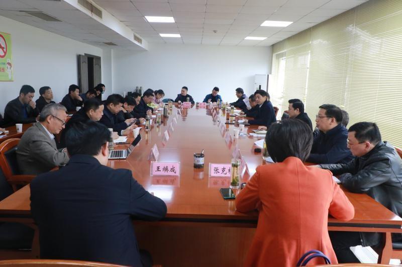霍绍斌主持召开关于六安新城建设发展专题务虚会