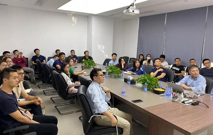 浙江大学医学院董旻岳教授访问真迈生物并作学术报告