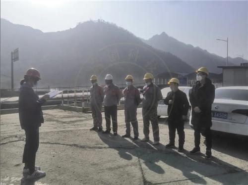 金钼矿冶分公司露天矿倒装站增设微喷降尘设施工程开工