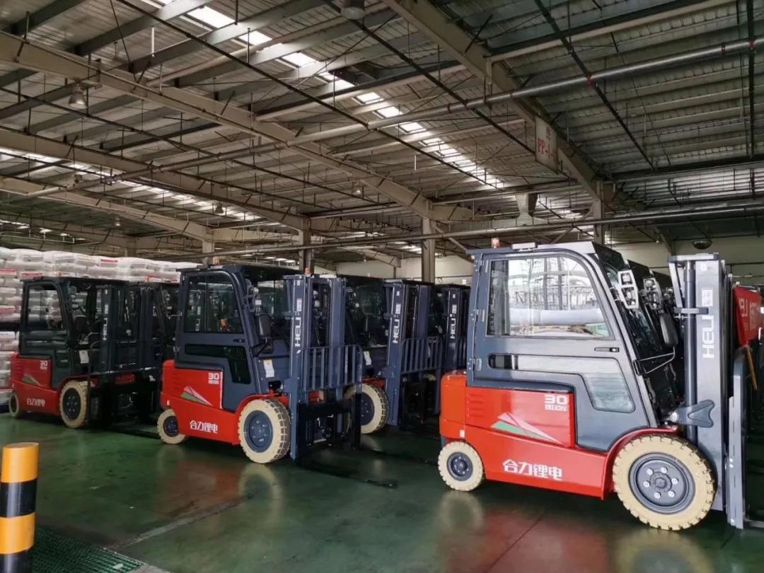 合力锂电在能源化工行业的典型应用