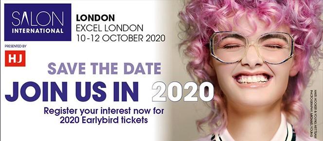 2020年英国伦敦国际美发沙龙展 Salon International