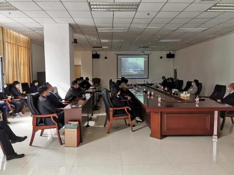 大中原国际亚博体彩官网2020年春季消防安全知识培训会议