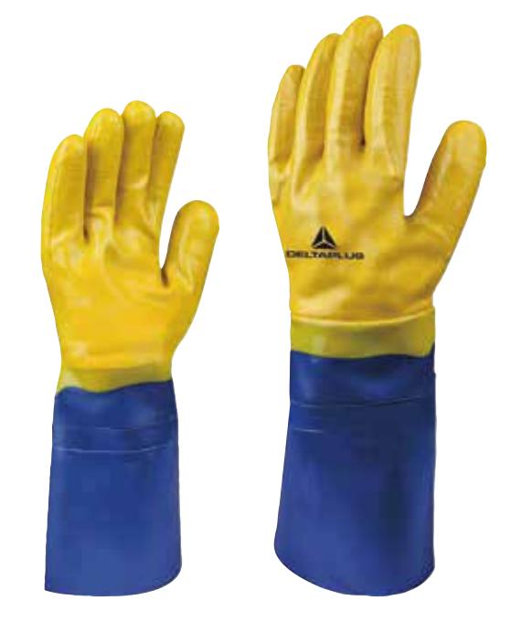 代尔塔棉内衬丁腈涂层手套