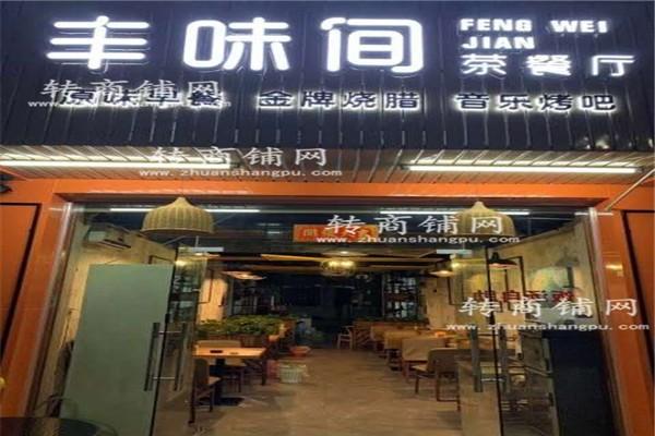 福永大型工业区门口餐饮店转让