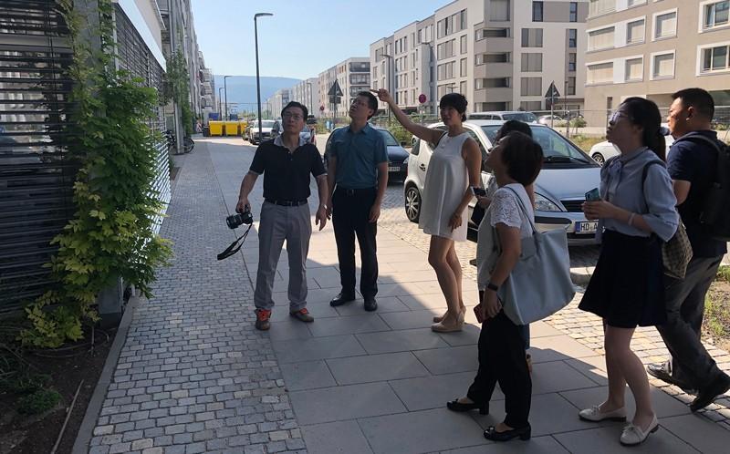 上海建科考察团到访海德堡参观考察