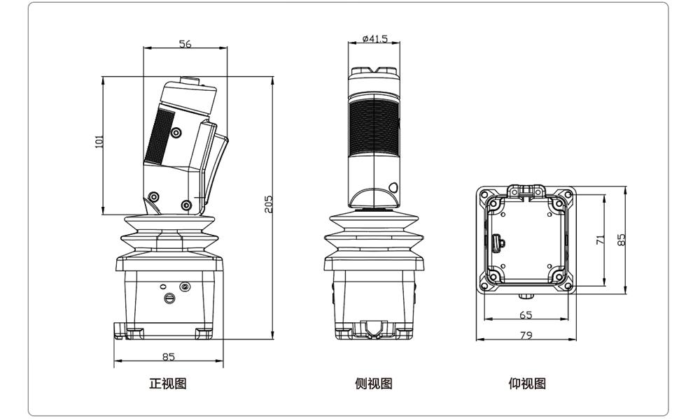 HJ70-1A-S-2H56-KM-A-T03