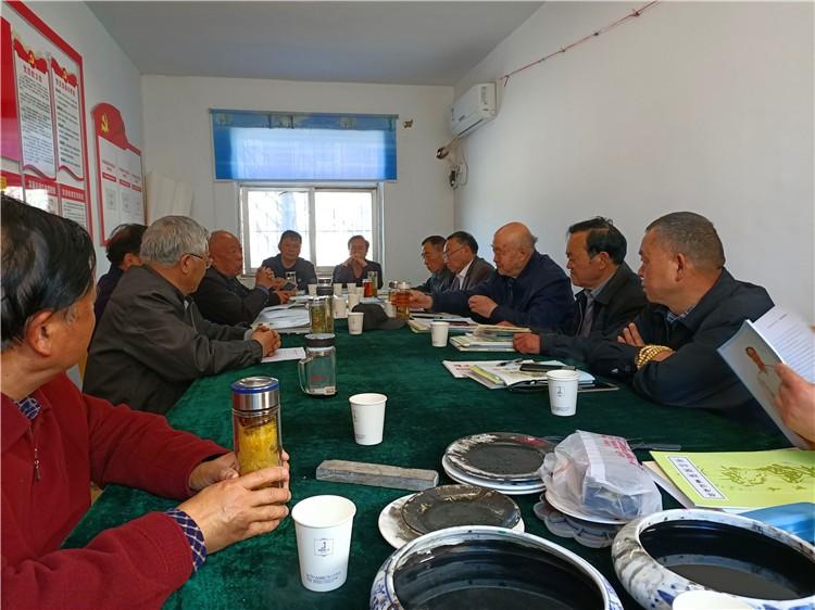 安徽省涡阳老年书画研究会10位书画家来濉溪举办的首次交流活动