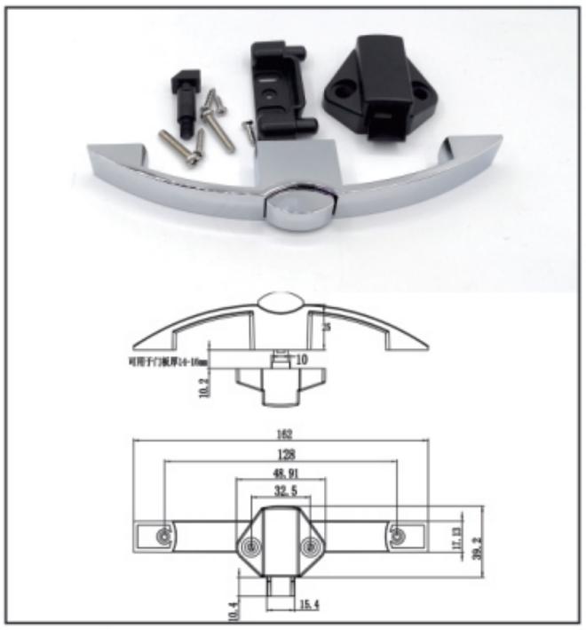 Bow shape Lock