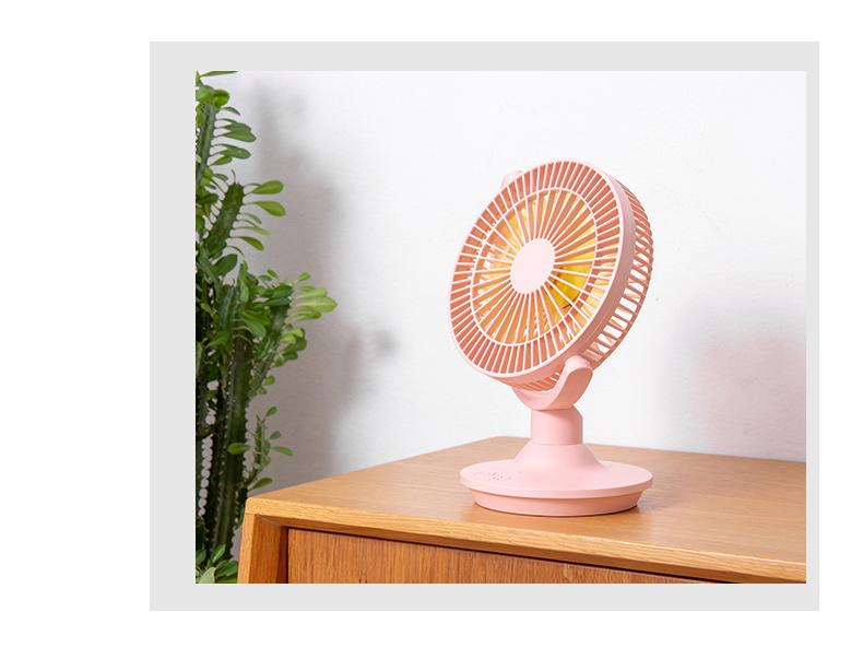 小风扇静音办公室可充电制冷神器