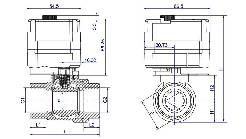 OSATQ911系列微型电动调节阀