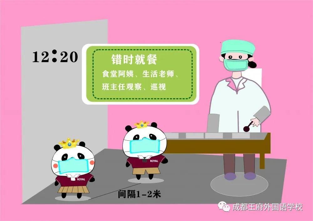 成都王府外国语小学部复学防控指南|ROYAL PANDA教你做好健康防护