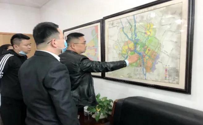 中科招商航空调研成都新津航空小镇项目