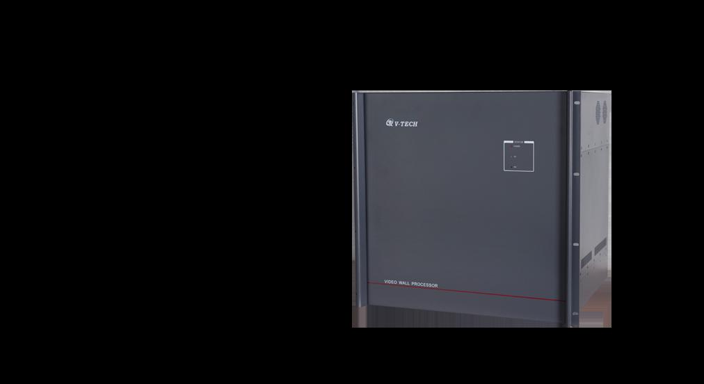 VMS3000  四窗图像拼接控制器