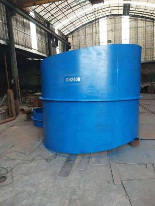 大口径倾斜边刚性防水套管裕隆制造