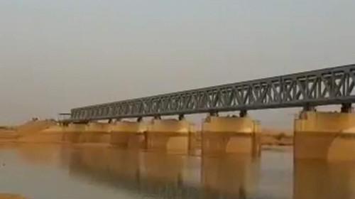 中国应急承建的马里杰内大坝公路桥正式架通