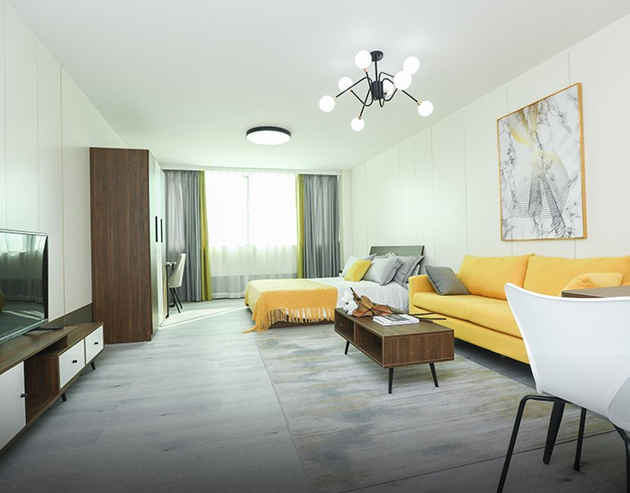 Luxurious Style in Yellow Series