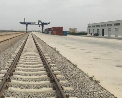 兰州乐虎国际娱乐app又一条铁路专用线建成!