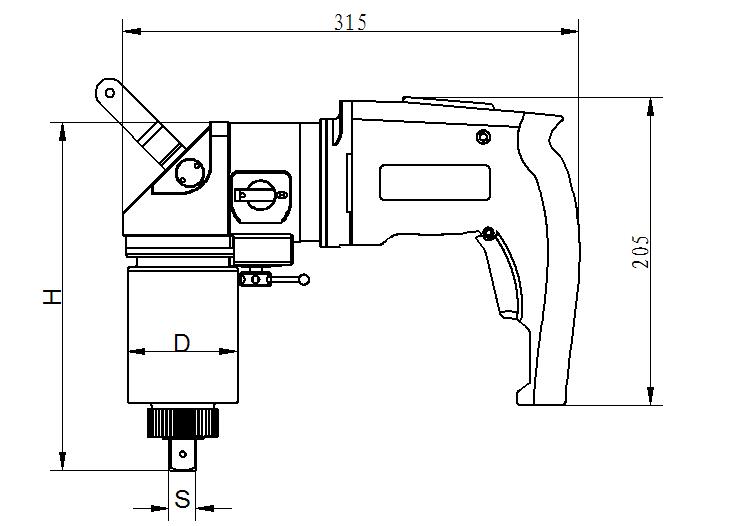 EW-A数显弯柄电动系列