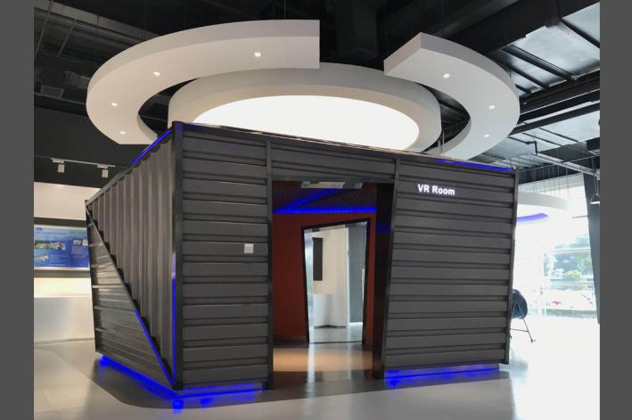 高科技企业展厅设计思路