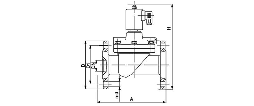 OSA53系列大通径先导膜片电磁阀
