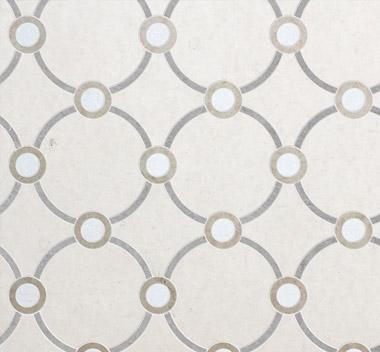 圆圈艺术花砖3d贴图
