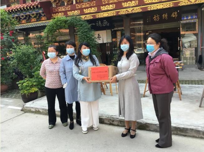 市妇联领导到武昌区调研,推进企业复工复产与手工、家政行业发展