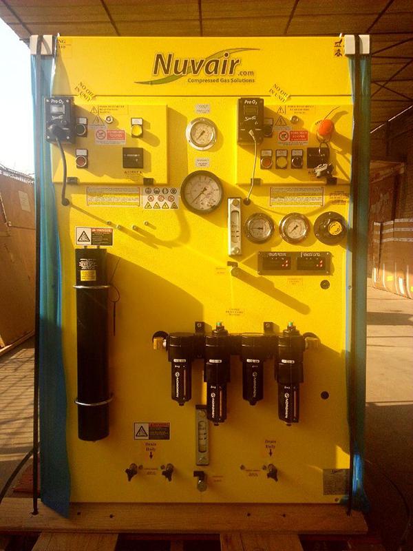 压缩机一系列设备展示