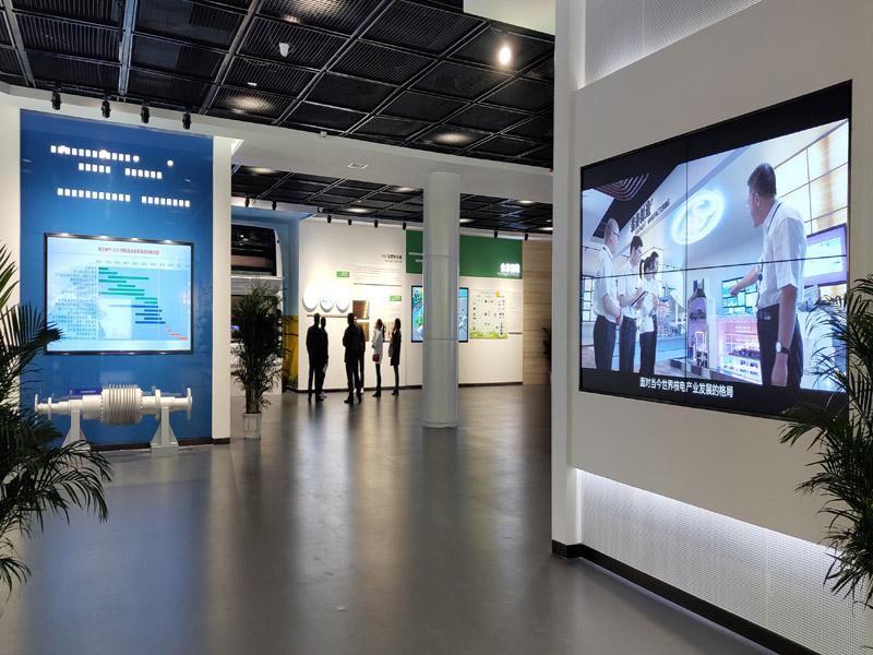 东方电气展厅液晶拼接大屏项目