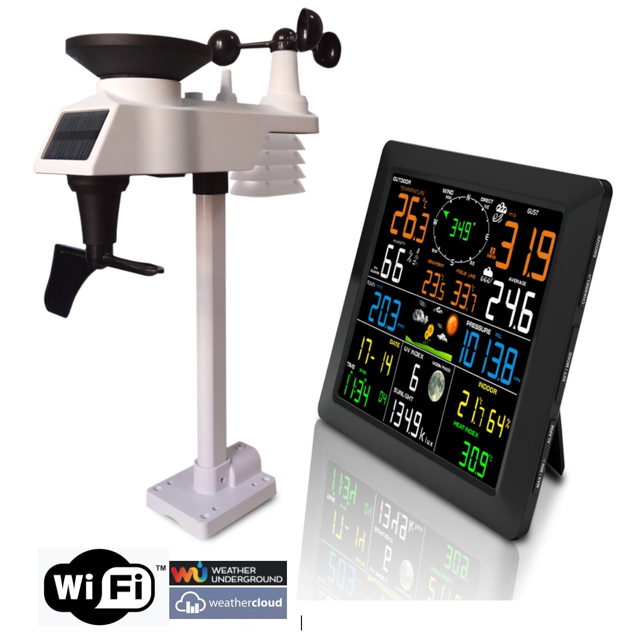 FT-0330-WIFI Professional Weather Station