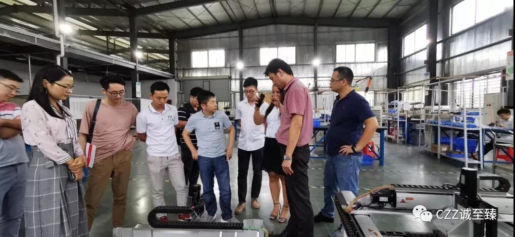 安阳工学院机械工程学院博士团 考察服务广东校友企业