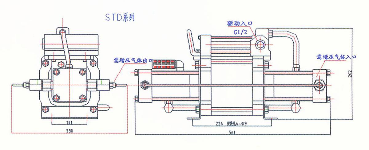 STD系列气体增压泵