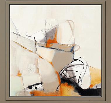 现代抽象装饰画3d贴图