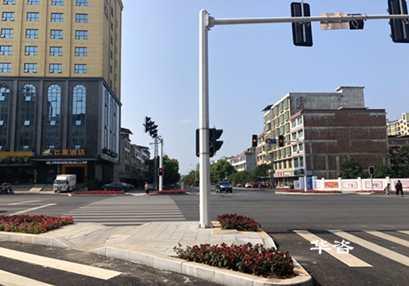 华咨交通科技团队赴永州市复杂交通路口回访城市交通优化情况