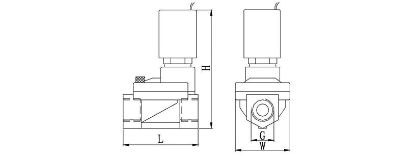 OSA66系列自保持脉冲电磁阀(也称双稳定电磁阀)