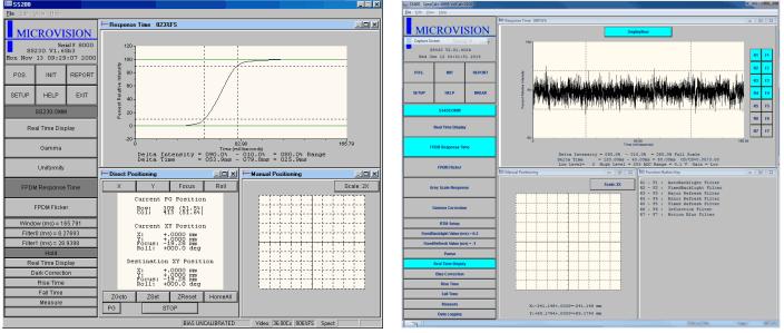 Microvision时间响应模块