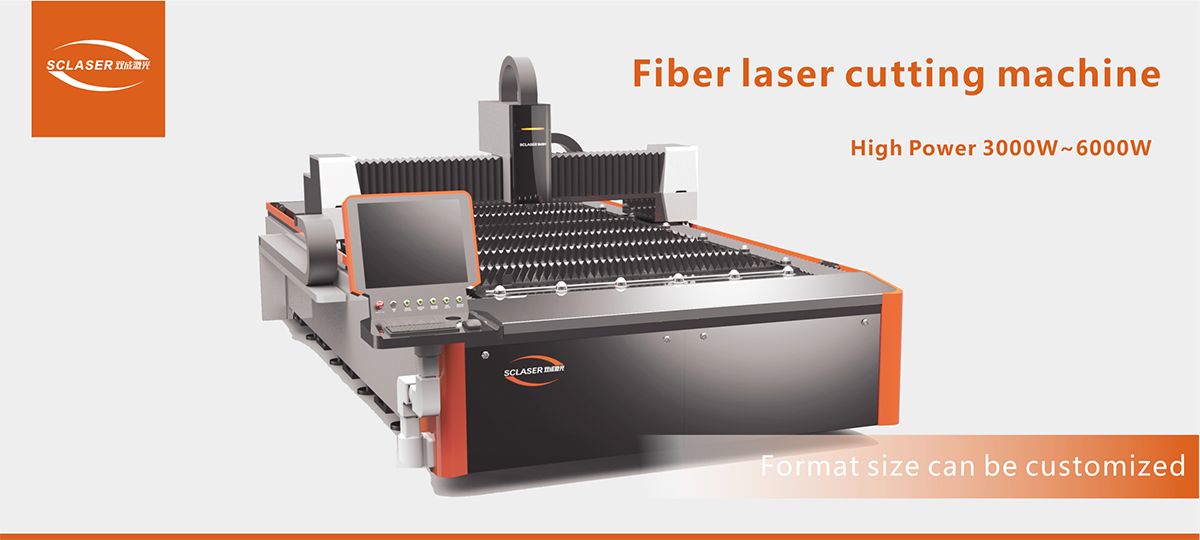 Single Table Fiber Laser Cutter SC-FB4000W