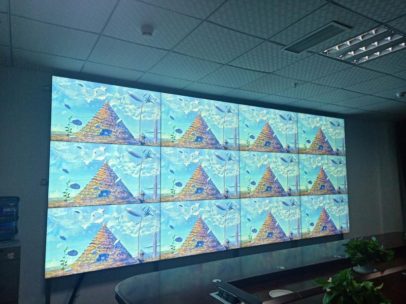 广安前锋区公安局液晶拼接屏项目
