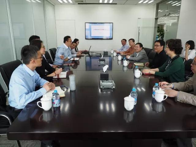 长宁区委副书记韩志强走访基础设施投资公司