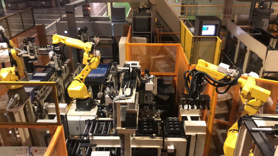 汽车发动机零部件凸轮轴智能装配系统