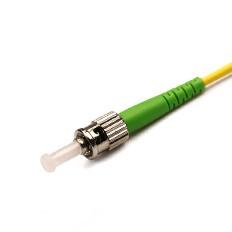 Fiber Optic Patchcord ST/APC-ST/APC Singlemode G652D Simplex LSZH/PVC 3.0mm