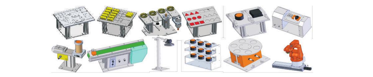 VR-RT- X型 工业机器人示教与编程实训台