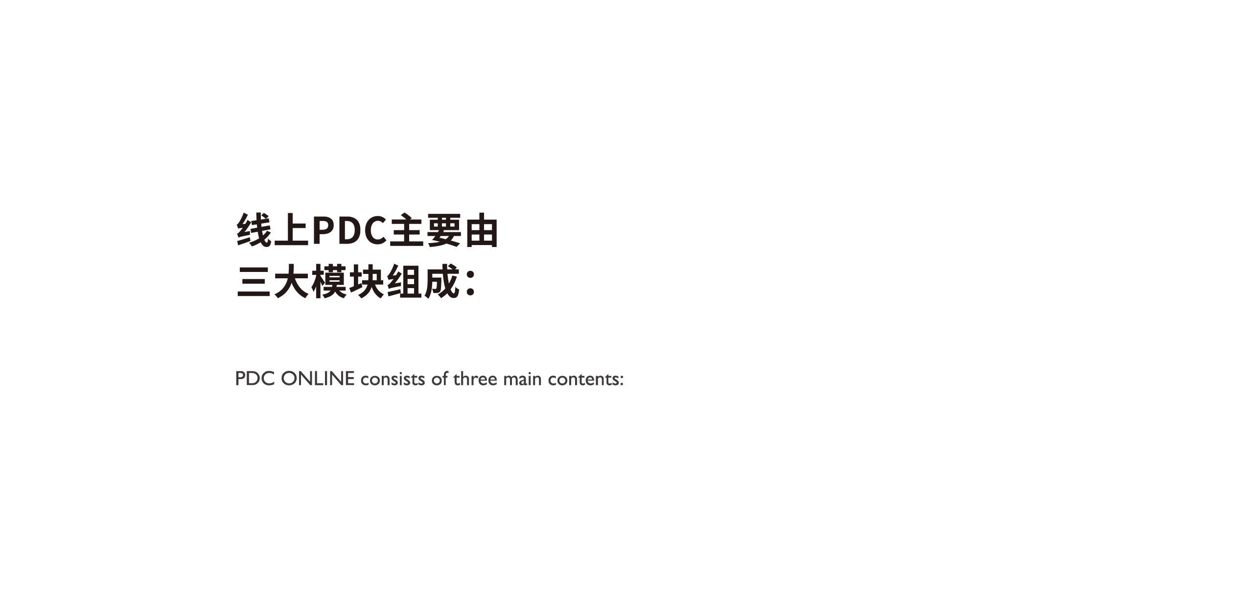 线上PDC