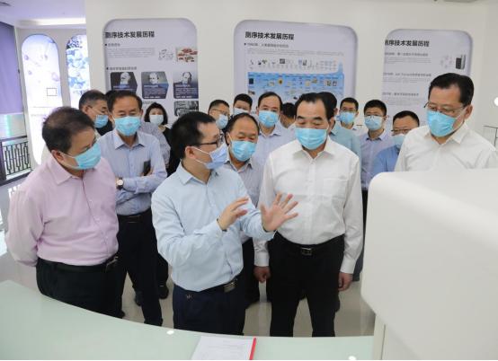 徐州市委书记周铁根率团访问真迈生物