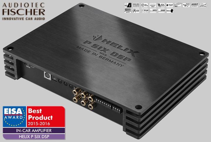 德国HELIX P SIX DSP MK2六路功放,将最美的声音送到你身边