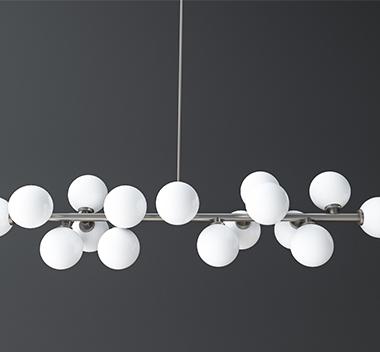 北欧吊灯3d模型