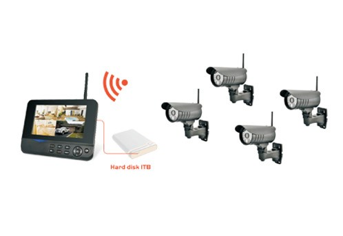 8107JR4 Wireless Kit