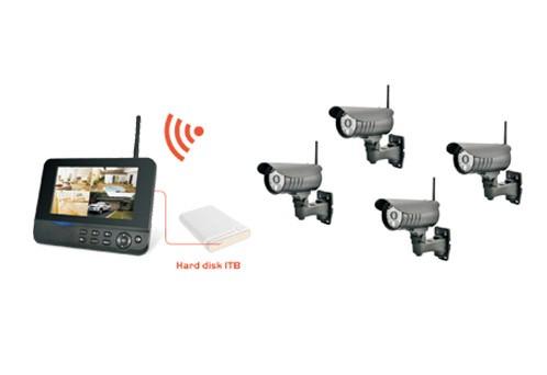 8107JR4 Wireless Kit