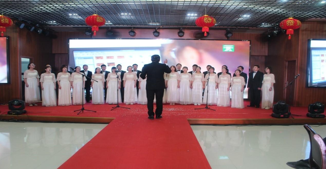 一夫科技合唱团正式组建